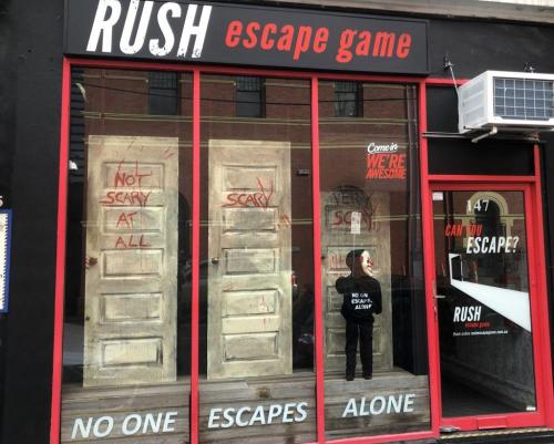 Rush Game frontage